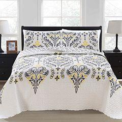 Home Fashion Designs Lauretta Collection Quilt Set