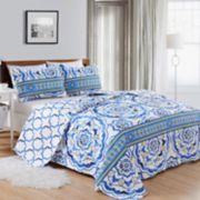 Home Fashion Designs Farrah Collection Quilt Set