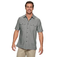Men's Croft & Barrow® Quick-Dry Classic-Fit Button-Down Shirt