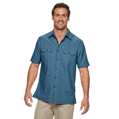 Men's Croft & Barrow® Quick-Dry Classic-Fit Button-Down Shirt