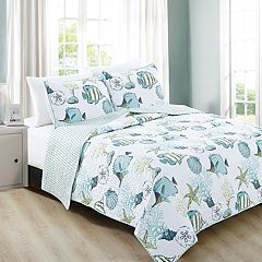 Home Fashion Designs Seaside Collection Quilt Set