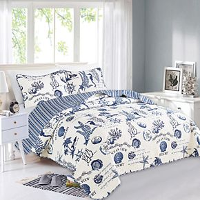 Home Fashion Designs Catalina Collection Quilt Set