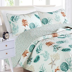 Home Fashion Designs Key West Collection Quilt Set