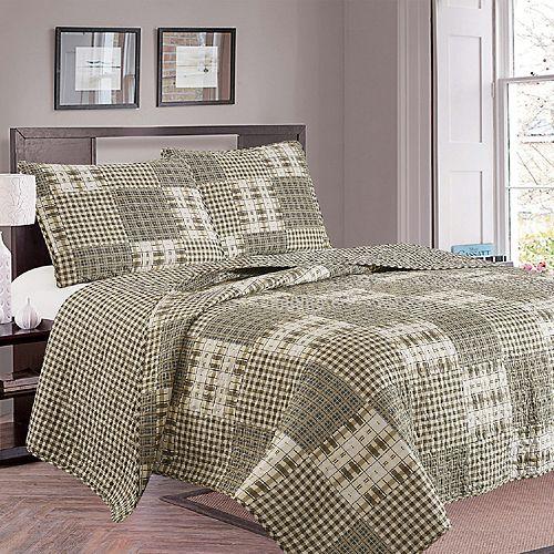 Home Fashion Designs Woodland Quilt Set
