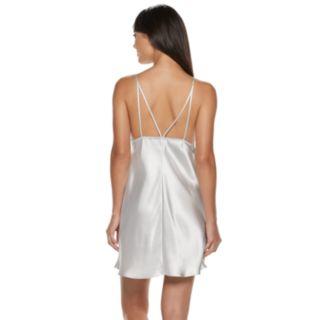 Women's Apt. 9® Satin Lace Chemise