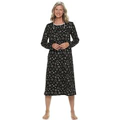 Women's Croft & Barrow® Printed Crewneck Nightgown