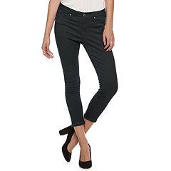 Women's Jennifer Lopez Super Skinny Midrise Crop Jeans