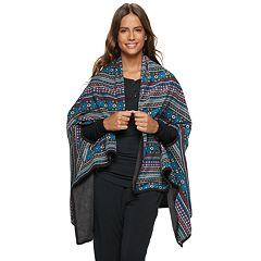 Women's Cuddl Duds Reversible Blanket Wrap