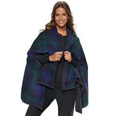 Women's Cuddl Duds Reversible Blanket Wrap