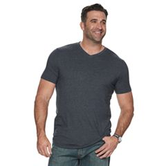 Big & Tall SONOMA Goods for Life™ Supersoft Solid V-Neck Tee