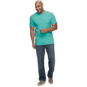Big & Tall SONOMA Goods for Life® Supersoft Pocket Crewneck Tee