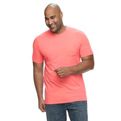 Big & Tall SONOMA Goods for Life™ Supersoft Pocket Crewneck Tee