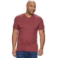 Big & Tall SONOMA Goods for Life™ Supersoft Solid Slim-Fit V-Neck Tee