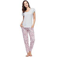Women's INK + IVY Tee & Joggers Pajama Set