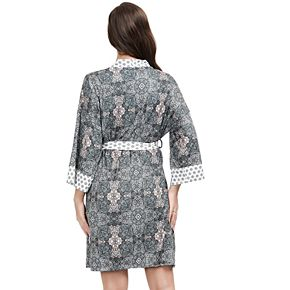 Women's INK + IVY Mosaic Kimono Robe