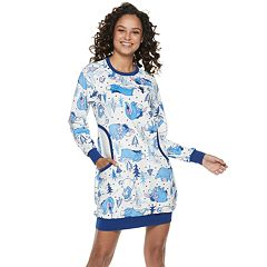 Juniors' Eeyore Printed Sleepshirt