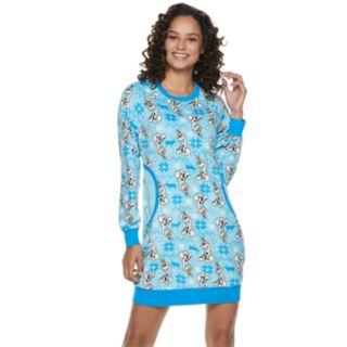 Juniors' Disney Frozen Olaf Sleepshirt