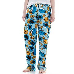 Juniors' Cookie Monster Plush Pajama Pants