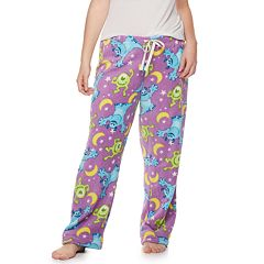 Plus Size Monsters Inc. Mike and Sulley Plush Pajama Pants