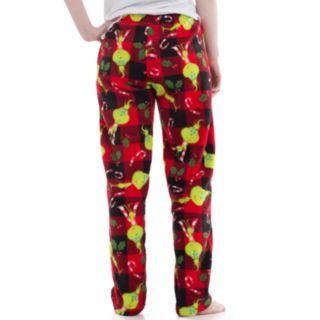 Juniors' Grinch Plush Pajama Pants