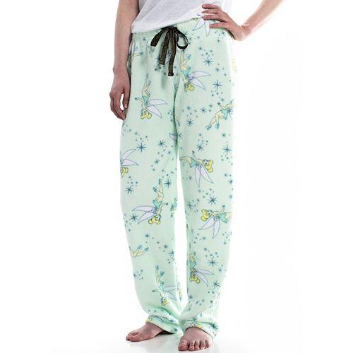 Juniors' Tinker Bell Plush Pajama Pants