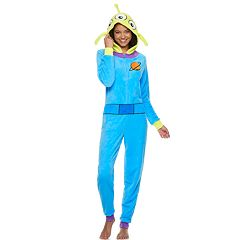 Juniors' Toy Story Alien One-Piece Pajamas