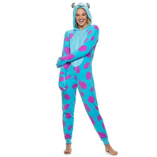 Juniors' Sulley One-Piece Pajamas