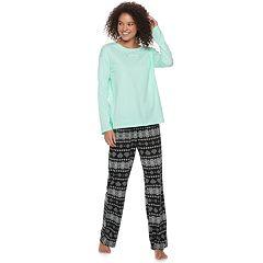 Juniors' SO® Graphic Dolman Tee & Pants Pajama Set