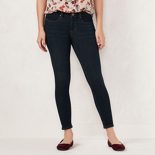 Petite LC Lauren Conrad Feel Good Super Skinny Midrise Jeans