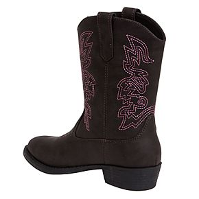 Deer Stags Ranch Kids' Western Boots