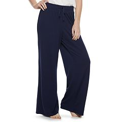 Women's SONOMA Goods for Life™ Wide-Leg Pajama Pants