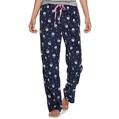Women's SONOMA Goods for Life™ Printed Fleece Pajama Pants