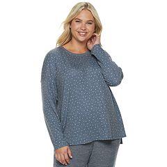 Plus Size SONOMA Goods for Life™ Waffle Pajama Tee