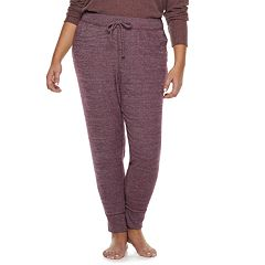 Plus Size SONOMA Goods for Life™ Ribbed Joggers