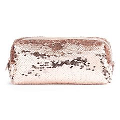 LC Lauren Conrad Flip Sequin Cosmetic Bag