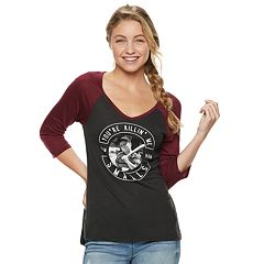Juniors' The Sandlot 'You're Killin' Me Smalls' Raglan Tee