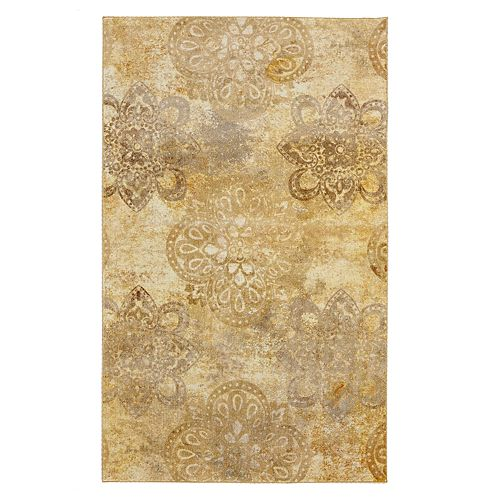 Mohawk Home Prismatic Hastings Distressed Medallion Rug