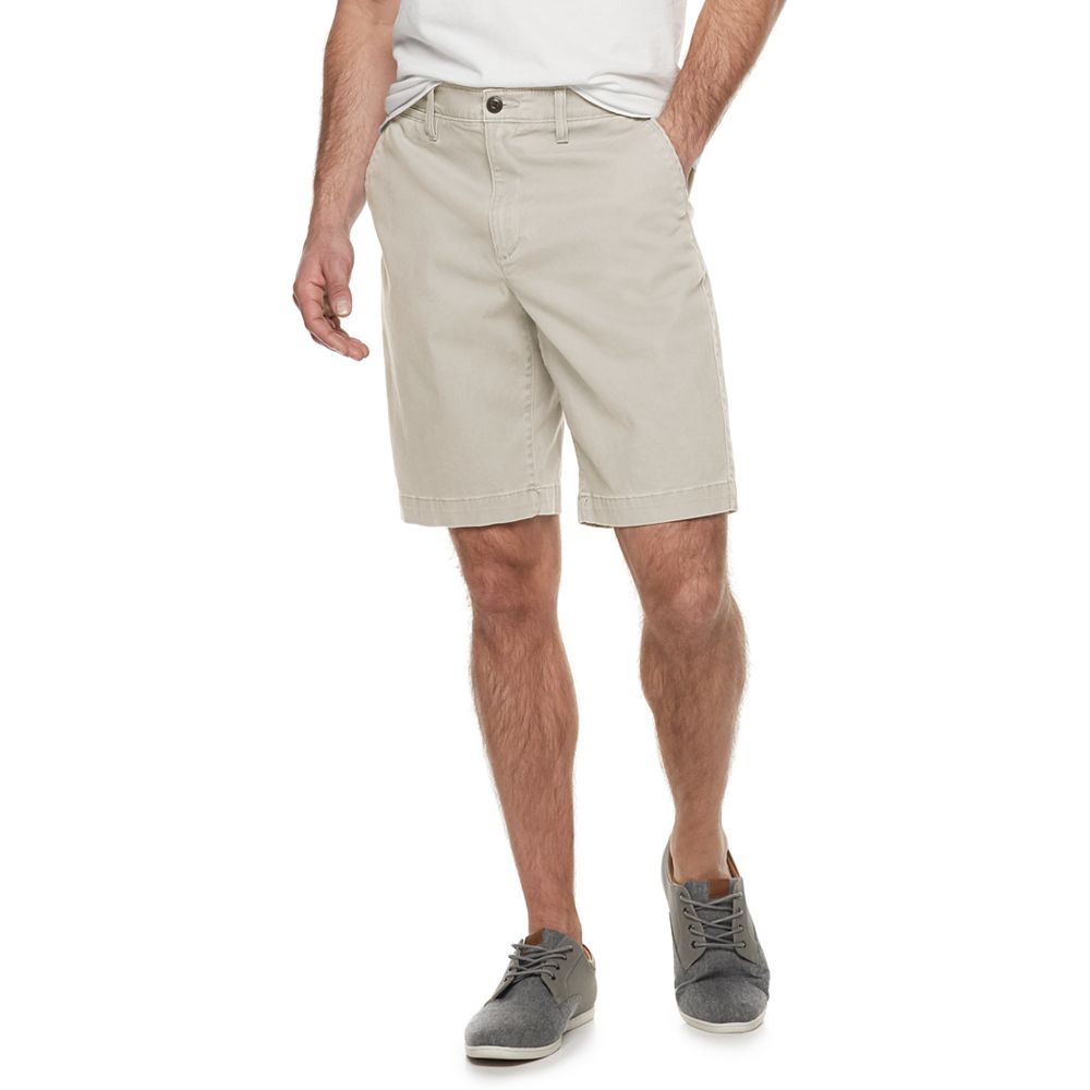 Men's SONOMA Goods for Life™ Stretch 10.5-inch Twill Flat-Front Shorts