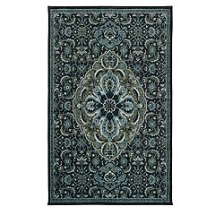 Mohawk Home Prismatic Hayden Framed Medallion Rug