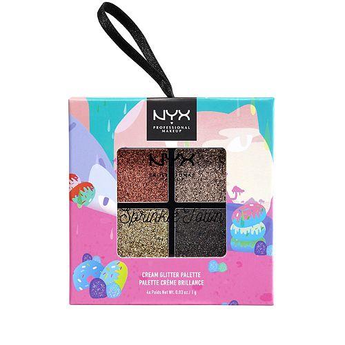 NYX Professional Makeup Sprinkle Town Cream Metallics Shadow Palette