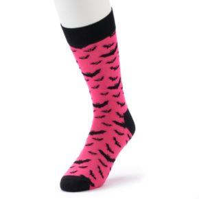 Men's HS by Happy Socks Halloween Bat Fashion Crew Socks