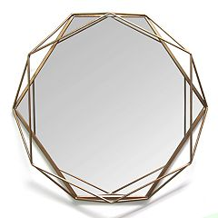 Stratton Home Decor Chloe Geometric Wall Mirror