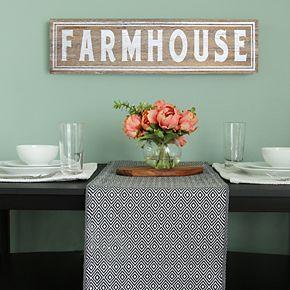 """Stratton Home Decor """"Farmhouse"""" Wall Decor"""