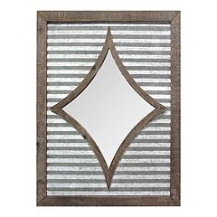 Stratton Home Decor Farmhouse Wall Mirror