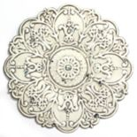 Stratton Home Decor White Medallion Wall Decor