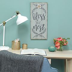 Stratton Home Decor 'Bless This Nest' Wall Decor