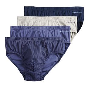 Men's Van Heusen 4-pack Low-Rise Briefs