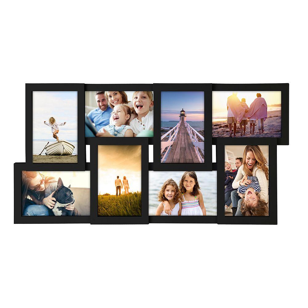 Malden 8-Opening Black Collage Frame