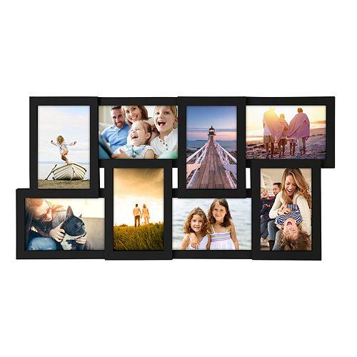 Malden 8 Opening Black Collage Frame