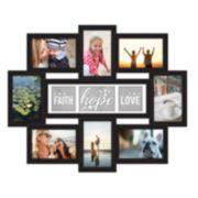 "Malden 9-opening ""Faith Hope Love"" Collage Frame"